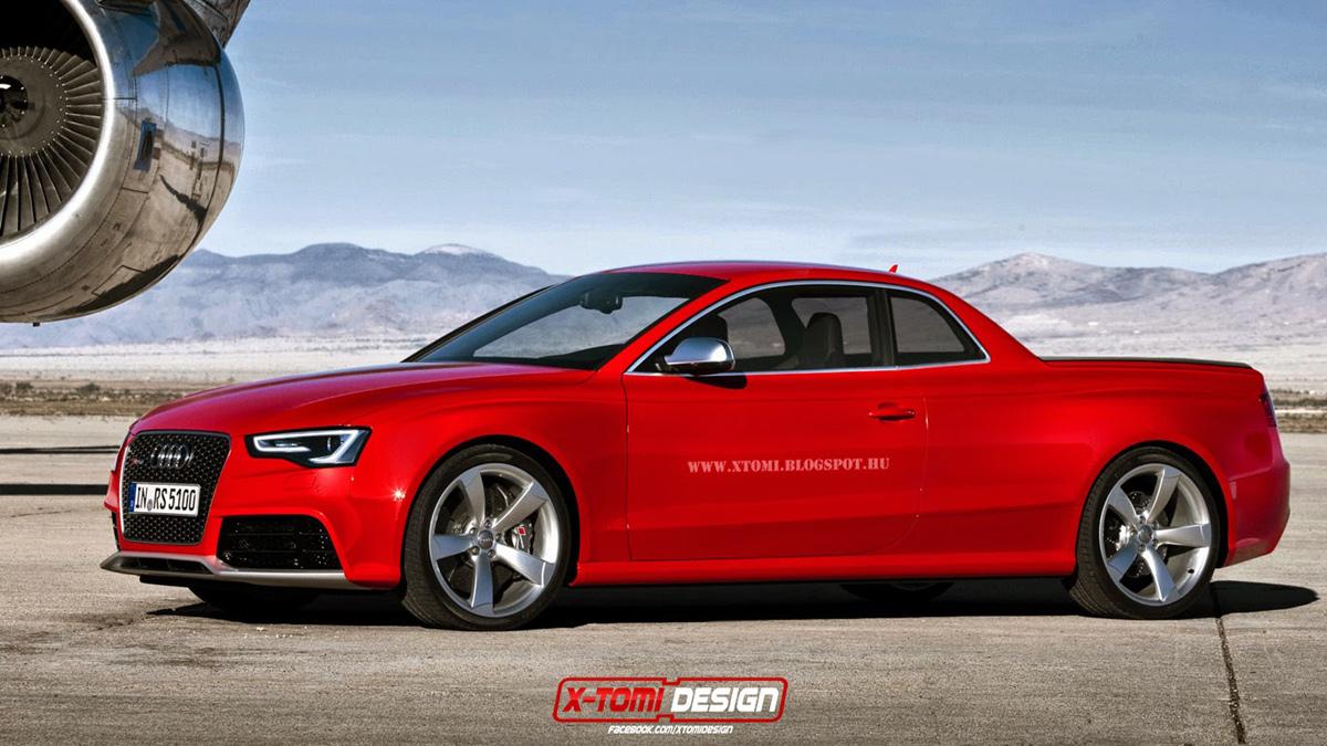 El Audi RS 5 se vería así...