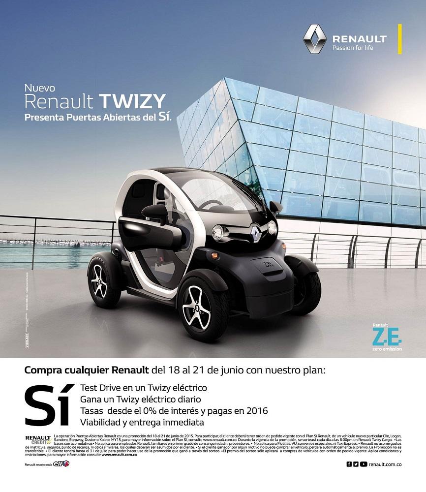 Renault Puertas Abiertas del 18 al 21 de junio.