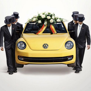 vw funeral