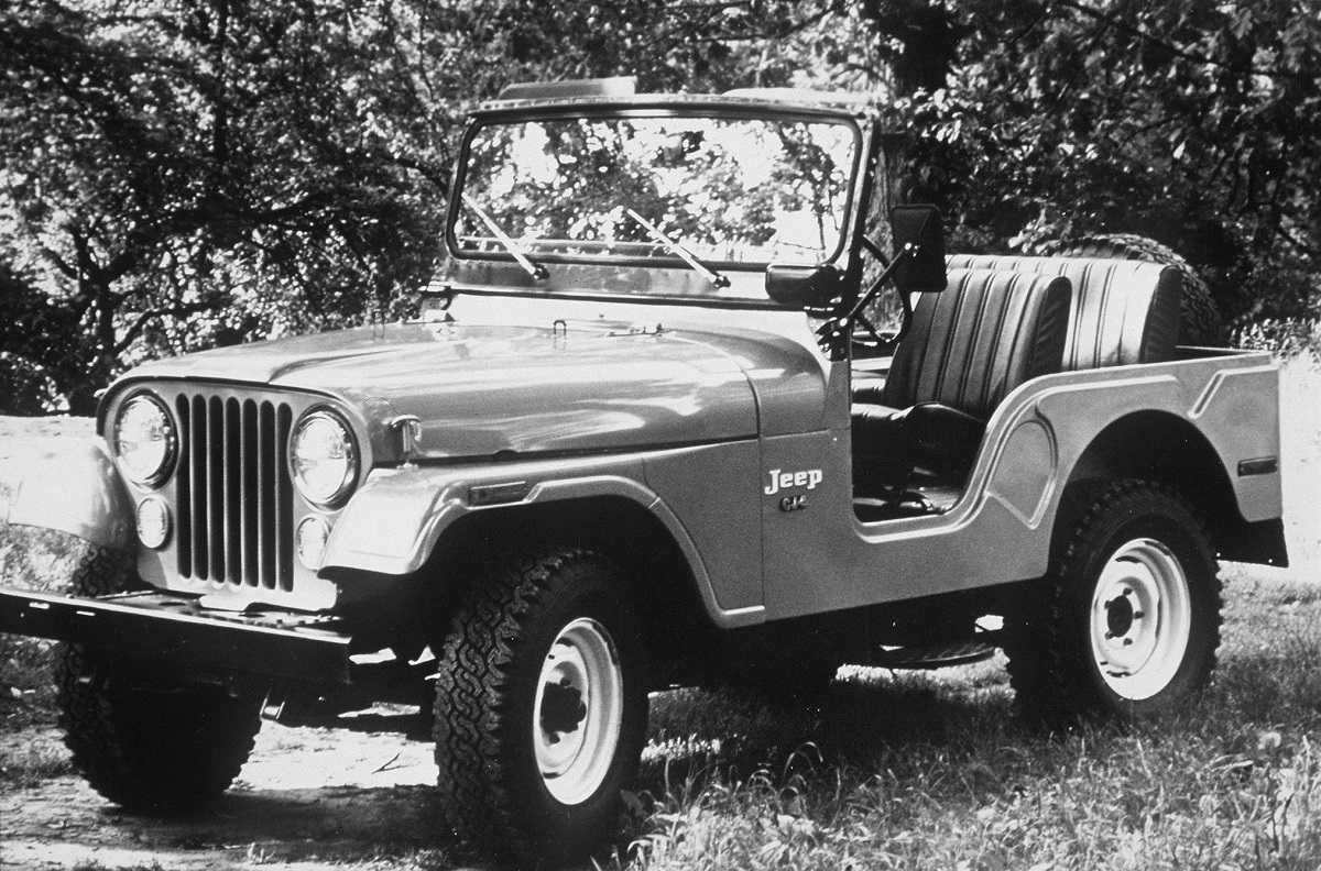1955 Jeep Willys.