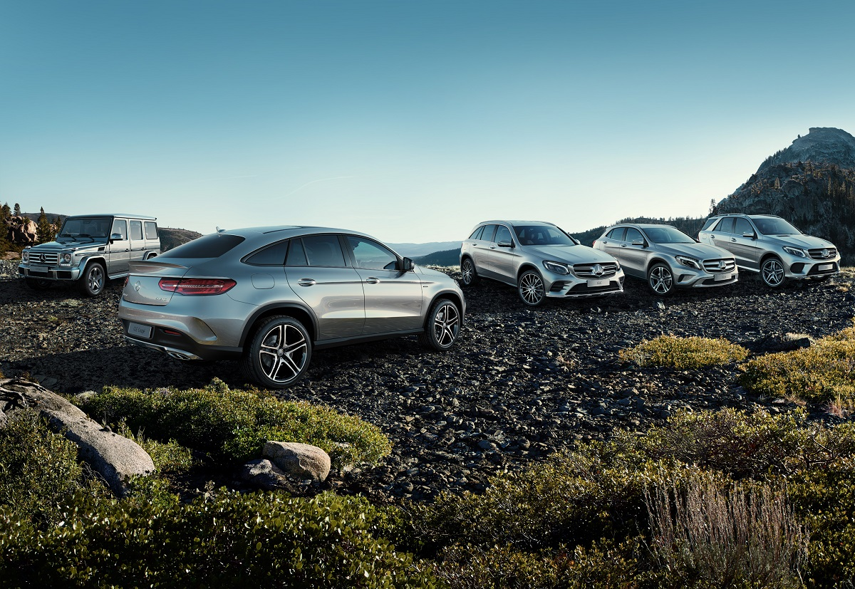 SUVs from Mercedes-Benz