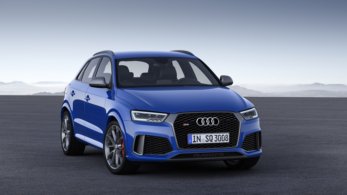 Audi RS Q3 - Color: Ascari blue metallic