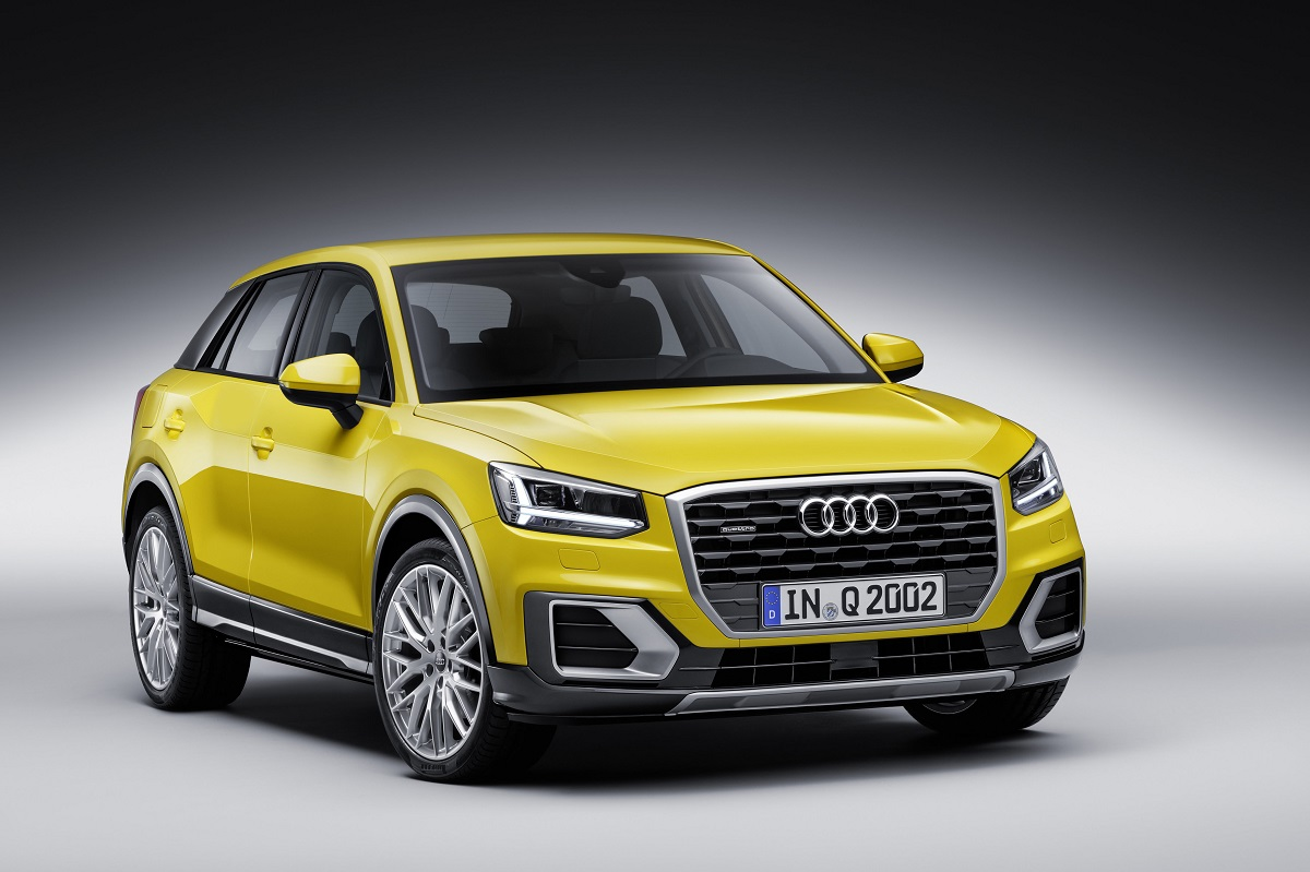Audi Q2 - Color: Vegas Yellow