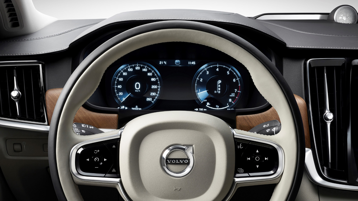 Interior Steering Wheel Volvo S90